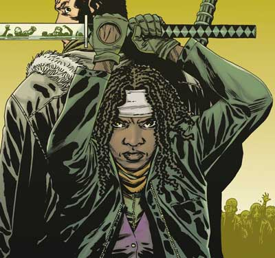 Le-comic-The-walking-Dead-avec-Michonne