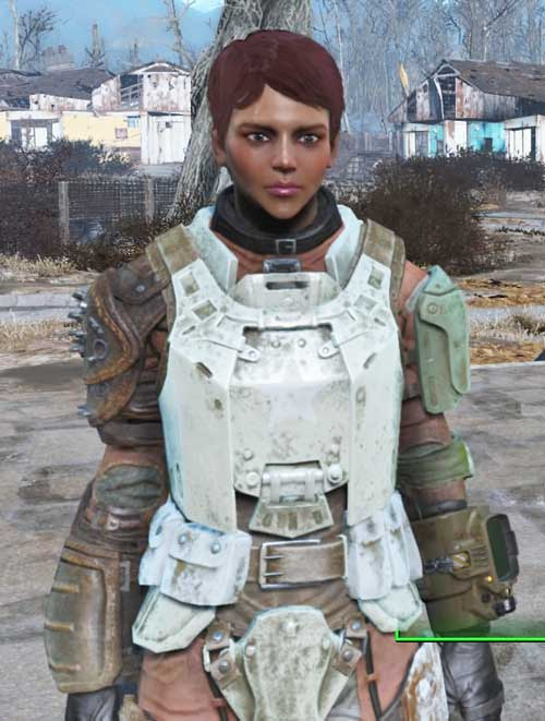L'œil vitreux, le teint malade on est bien dans Fallout !