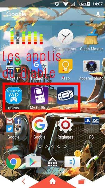 Emulateur-retro-gamig-smartphone-android
