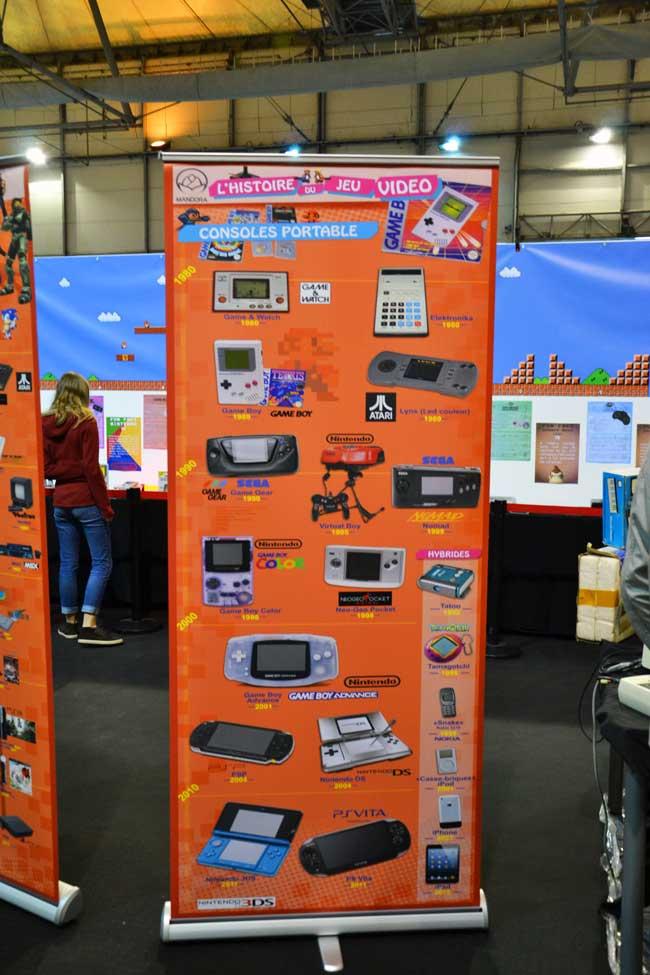 chronologie des consoles portables