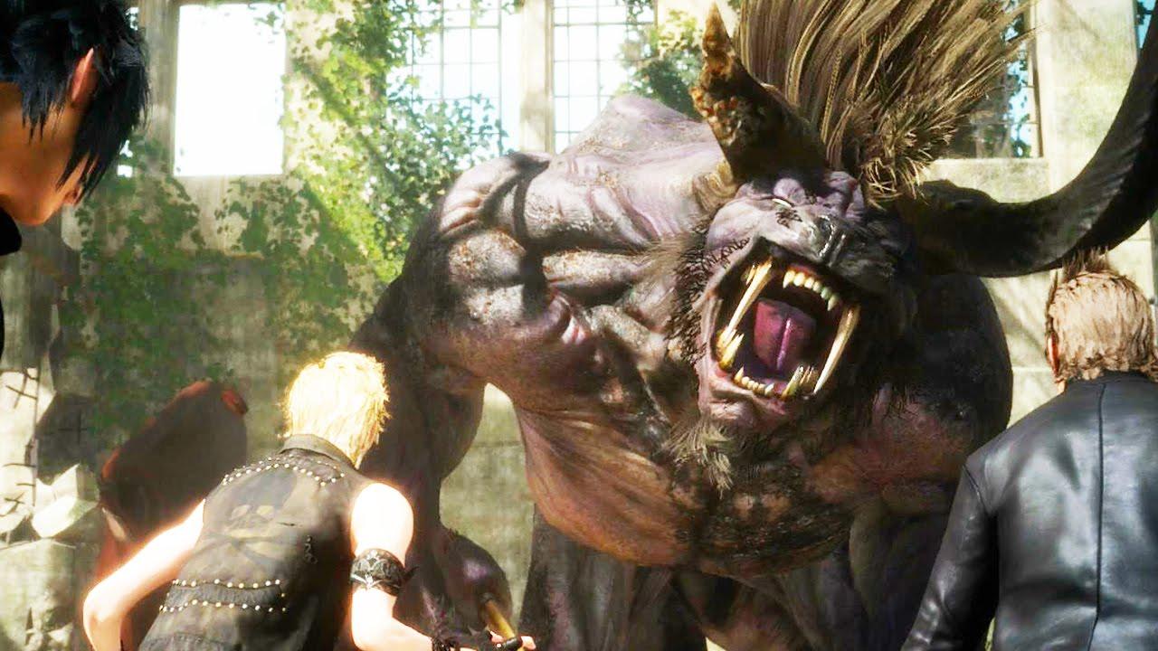 Behemot Final Fantasy 15